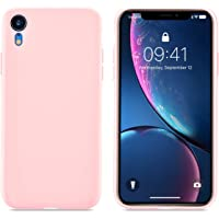 Ainope 6.1 inch iPhone Xr Liquid Sillicone Case (Pink)