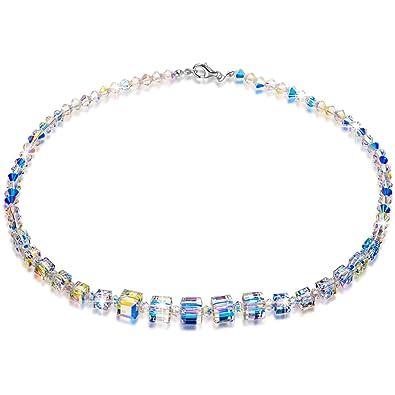 0774b50389ac7 LADY COLOUR Crystal Necklace A Little Romance Series 16.5
