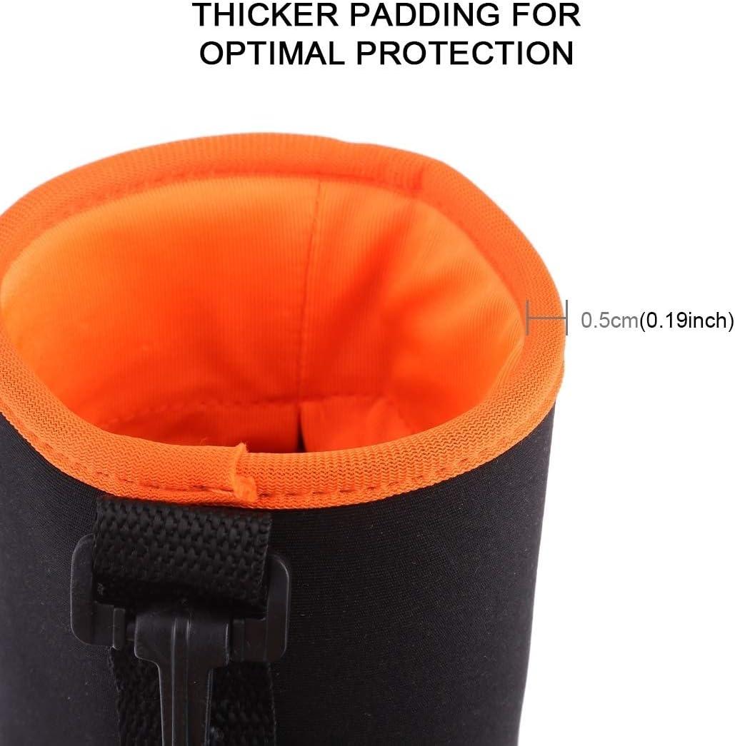 Color : Purple HONGYU Camera Accessories 4 in 1 SLR Camera Lens Bag Micro Single Lens Bag Lens Inner Bile Bag Waterproof Protective Case Plus Velvet Thickening Orange