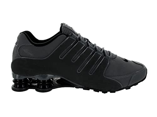 nike black shox sneakers