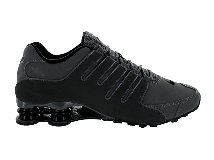 best service 27fa3 17947 Nike Mens Shox NZ Leather Trainers  Amazon.fr  Chaussures et Sacs