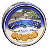 Royal Dansk Danish Cookies - Taste To Remember 12 oz (3 Tins)