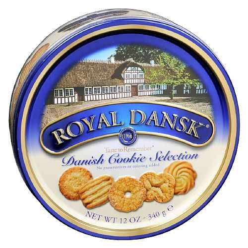 Royal Dansk Danish Cookies - Taste To Remember 12 oz (3 Tins) by Royal Dansk By ForHoME