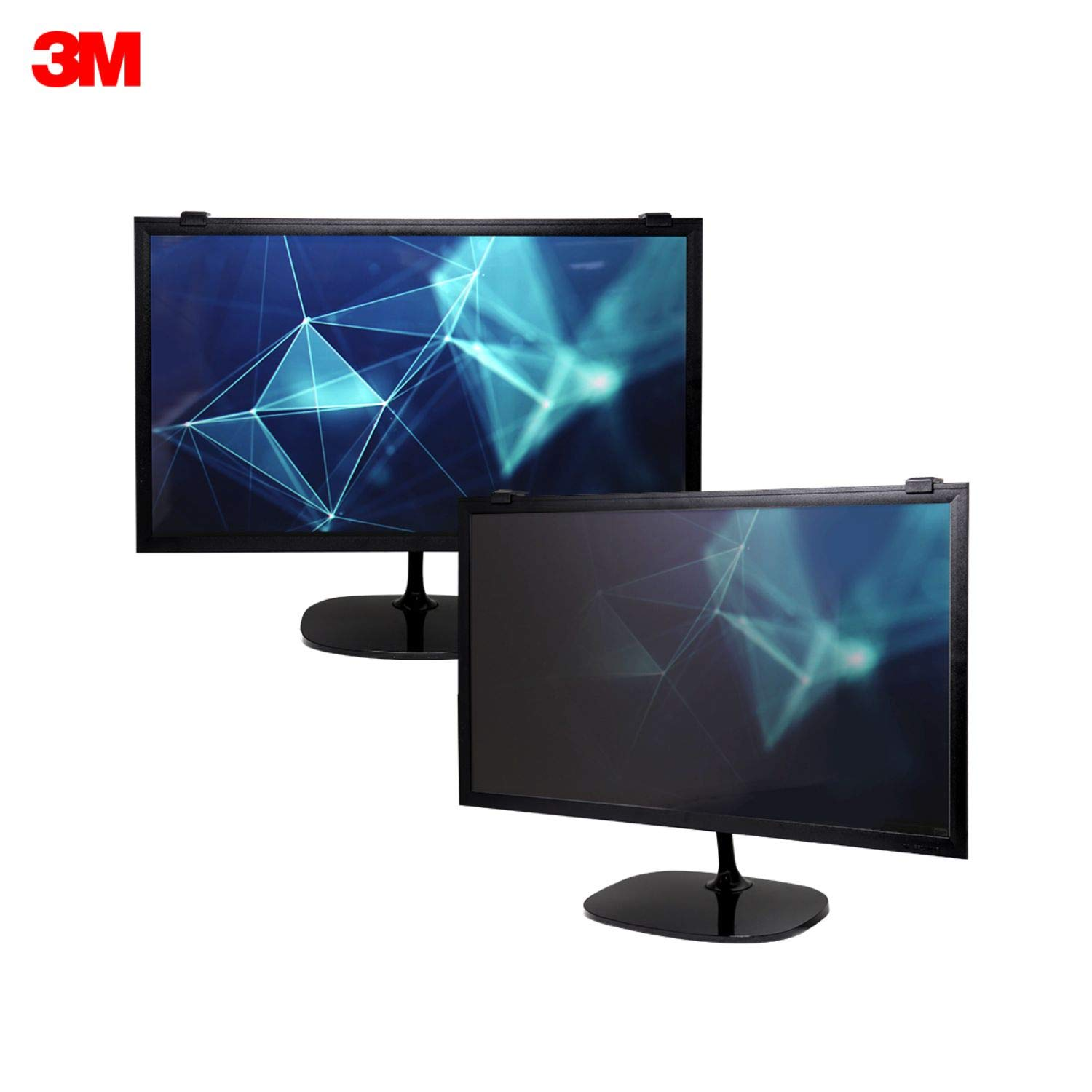 3M Framed Privacy Filter for 22'' Widescreen Monitor (16:10) (PF220W1F) by 3M