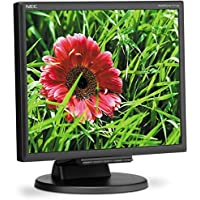 NEC MultiSync E171M-BK 17 inch 1000:1 5ms VGA/DVI LED LCD Monitor w/ Speakers (Black) (NEC E171M-BK) (Certified Refurbished)