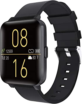 Kalakate Smart Watch for Men Women, Fitness Tracker with IP68 Waterproof for Android iOS Phone, Smartwatch with 1.54