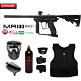 MAddog Spyder MR100 Pro Beginner Protective CO2 Paintball Gun Package
