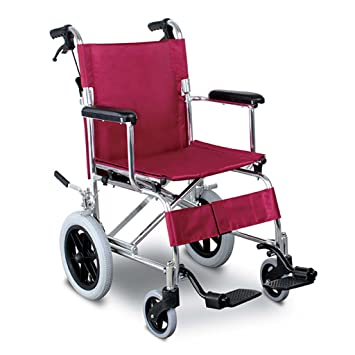 Sillas de ruedas, aleación de Aluminio Plegable Viaje con ...