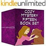 Cozy Mystery 15 Book Set