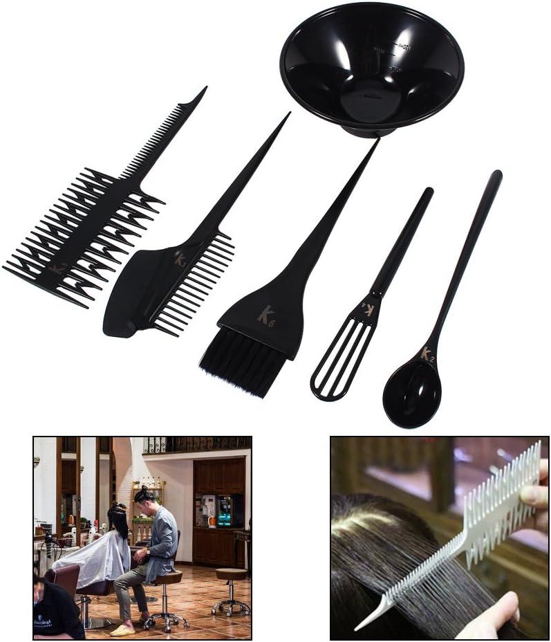 Cabello para colorear cepillo y cuenco Set, Kit de tinte de ...