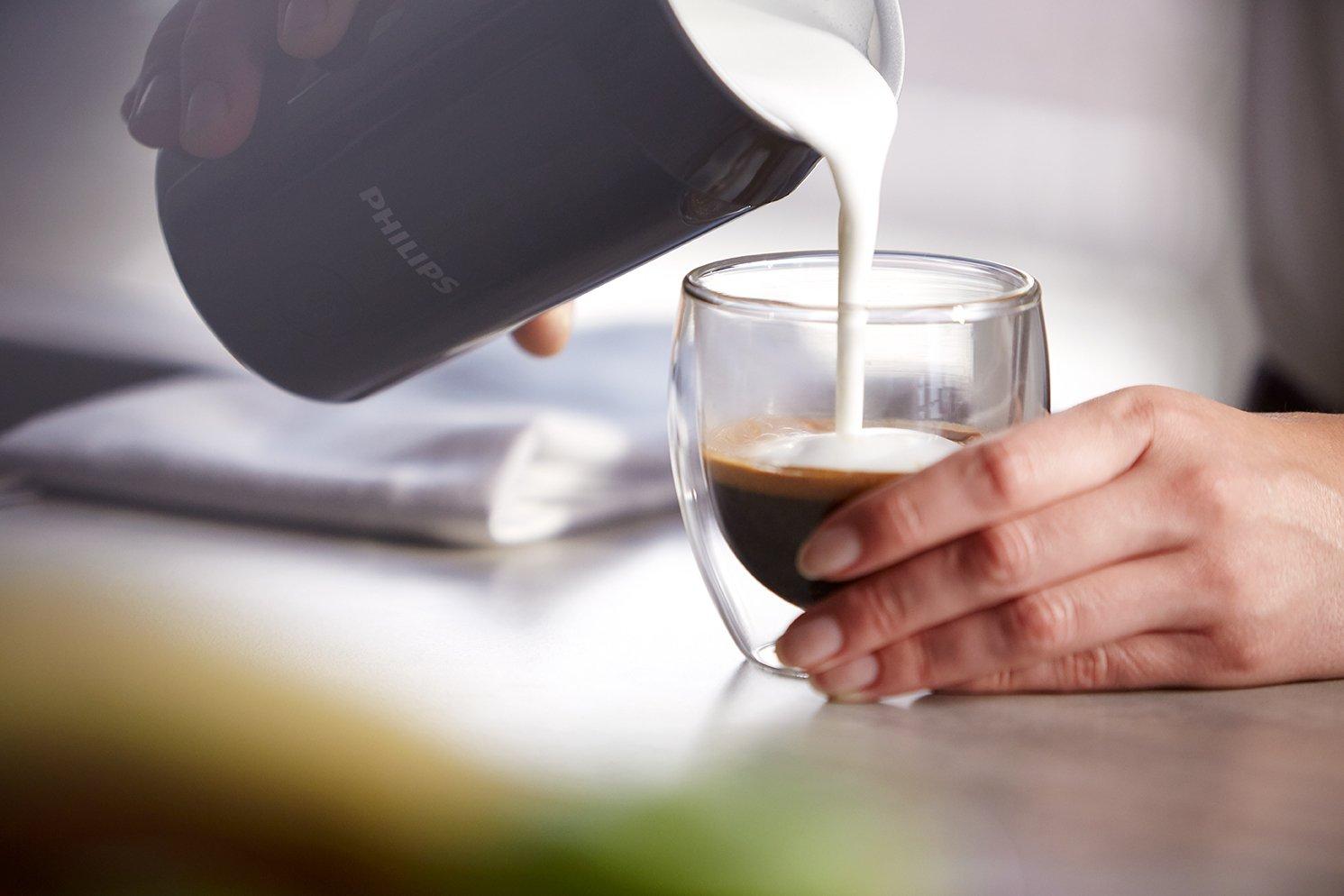 Philips CA6502/65 espumador para leche - Espumador de leche (Corriente alterna, 50 Hz, 220-240 V, 130 mm, 130 mm, 200 mm): Amazon.es: Hogar