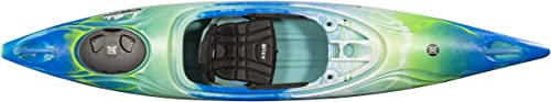 Perception Joyride 12 Sit Inside Kayak with Selfie Slot and Cup Holder Adjustable Padded Seat Sealed Rear Storage 12 2