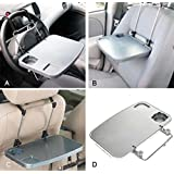 Saiyam Multi Tray - Multi-Functional Foldable Tray Mounted to Steering Wheel, Assistant Seat and Seat Back