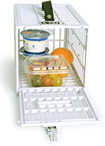 "Food Snack Lock Box to Put Away Temptations - 12"" x 7.5"" x 7.25"" Fridge Locker for Keeping Your Food, Snacks or Medicine - Small Lock Box Perfect for Home and Office Use"