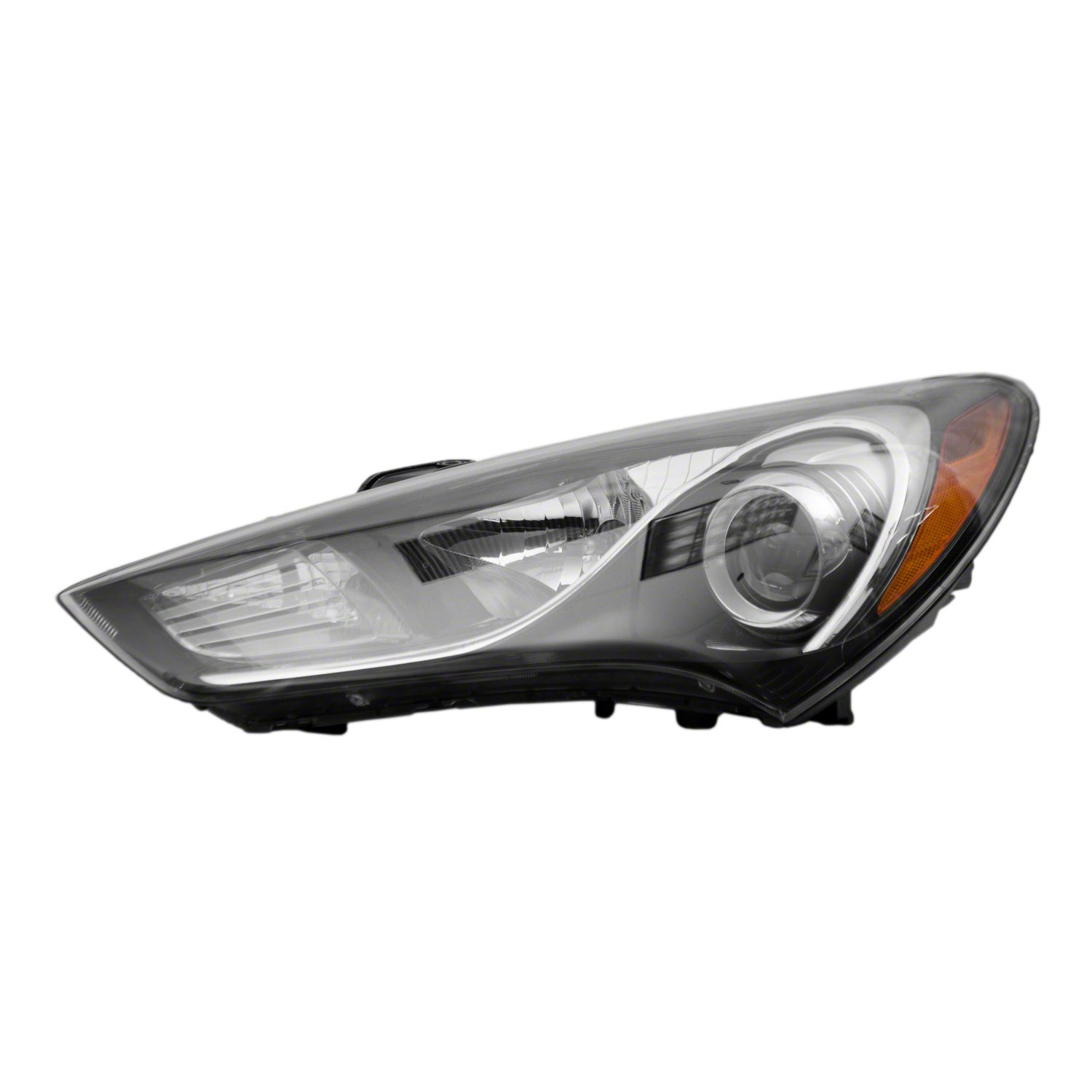 PartsChannel HY2502176OE OE Replacement Headlight Assembly HYUNDAI GENESIS COUPE