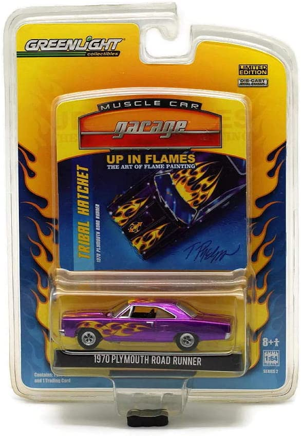 Greenlight Up In Flames series # 1 1970 Plymouth Cuda