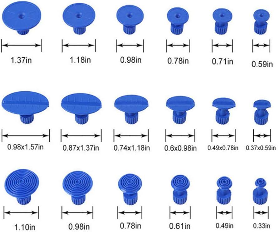 PDR Paintless D/ébosselage R/éparation,Voiture Auto Body Repair Panel Puller Tool Kit Outils d/ébosselage sans Peinture