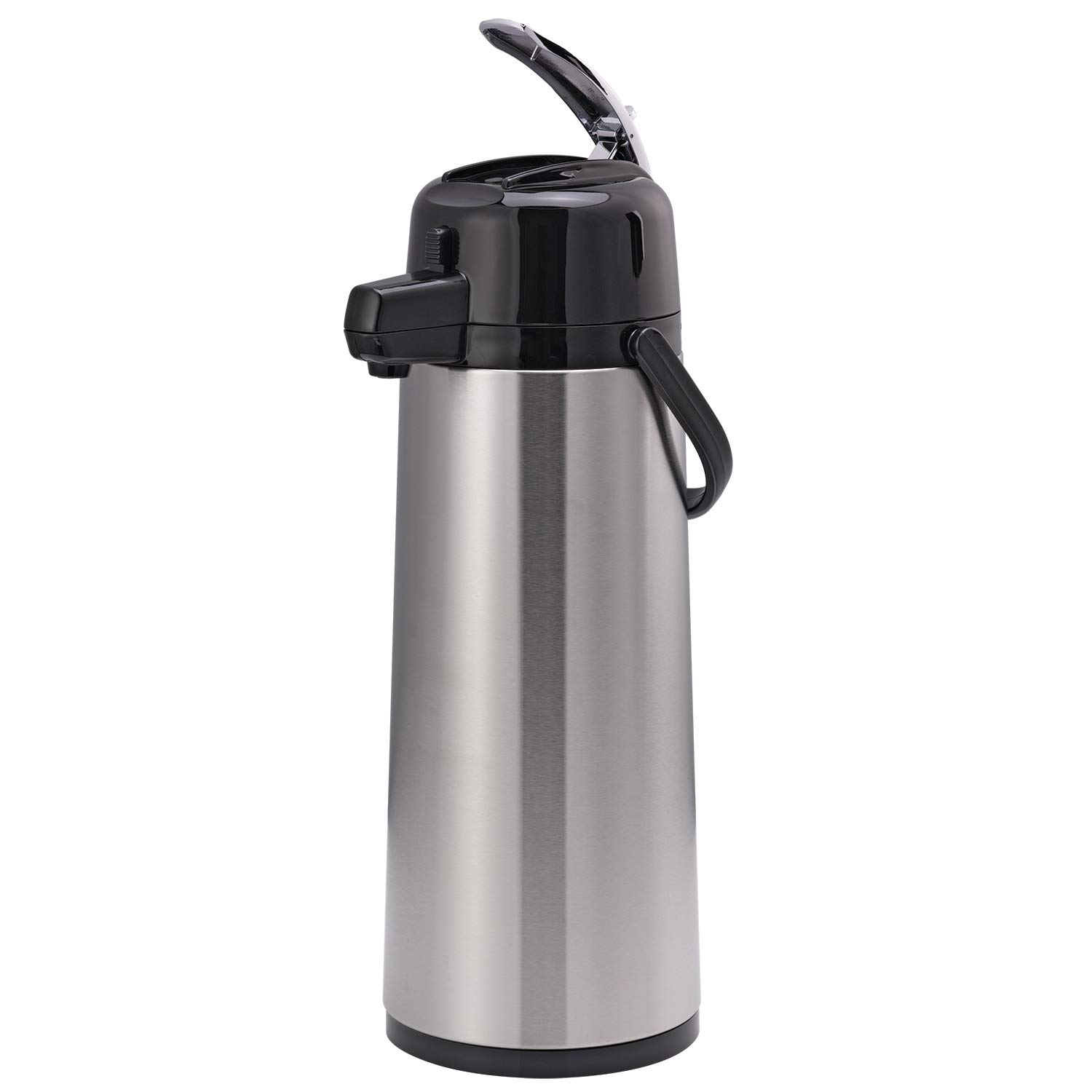 Service Ideas ECAL25S Eco-Air Airpot with Lever Lid, 2.5L, Silver