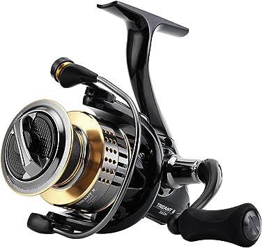 Oferta amazon: SKYSPER Carretes de Spincasting Carretes de Pesca 10 + 1BB Pesca Spinning Carrete Sistema de Fibra de Carbono Arrastre de Mar Agua Salada