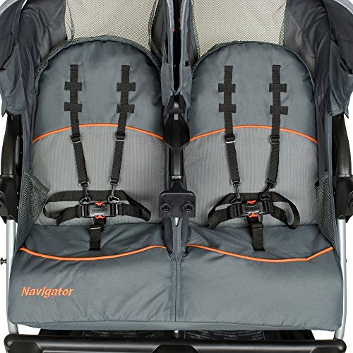 Baby Trend Navigator Double Jogger Stroller, Vanguard by Baby Trend (Image #3)
