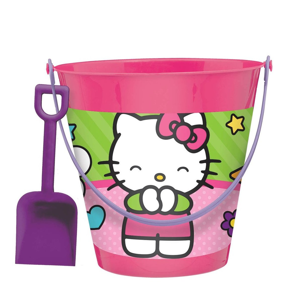 Amscan Adorable Hello Kitty Pail and Shovel cumpleaños Party ...