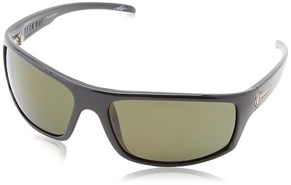 4eefc8a4f8 Amazon.com  Electric Visual Tech One Gloss Black OHM Grey Sunglasses ...