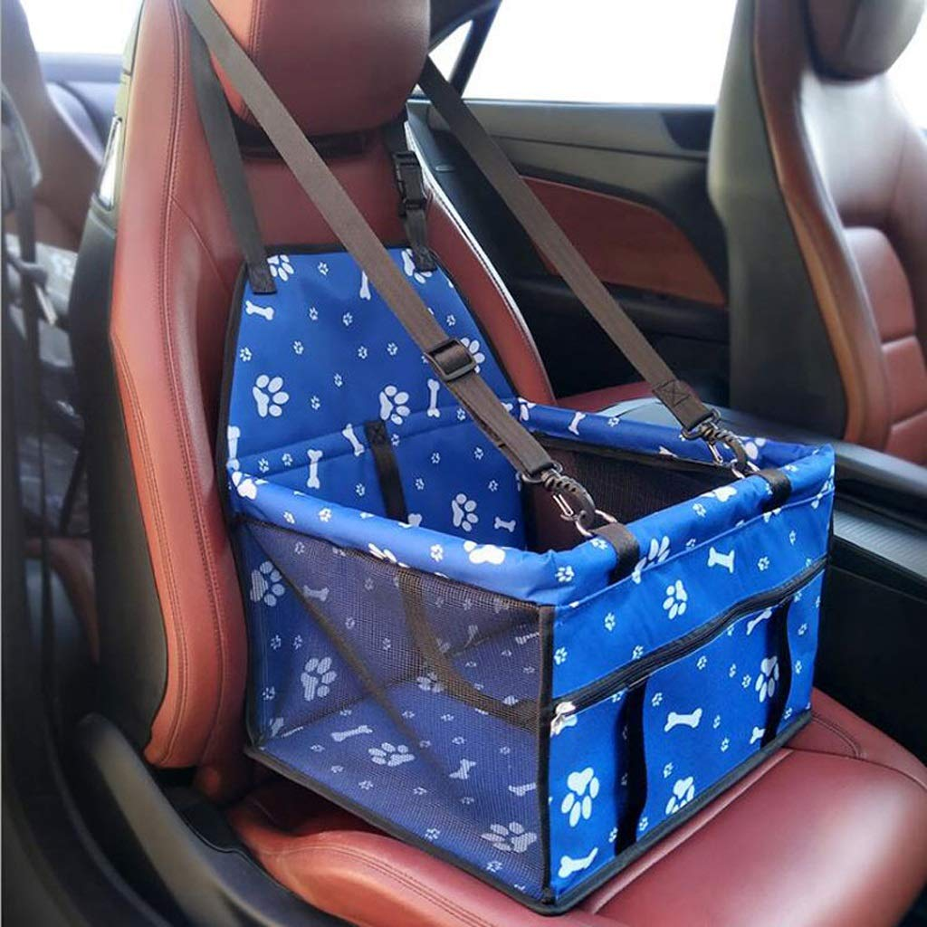 bluee B Pet Car Seat Crate Kennel Travel Crate Carrier for Small Medium Dog (color   bluee B)