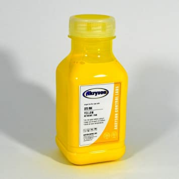 Tinta DTG de Impresión Digital Textil Color Amarillo 250ml ...