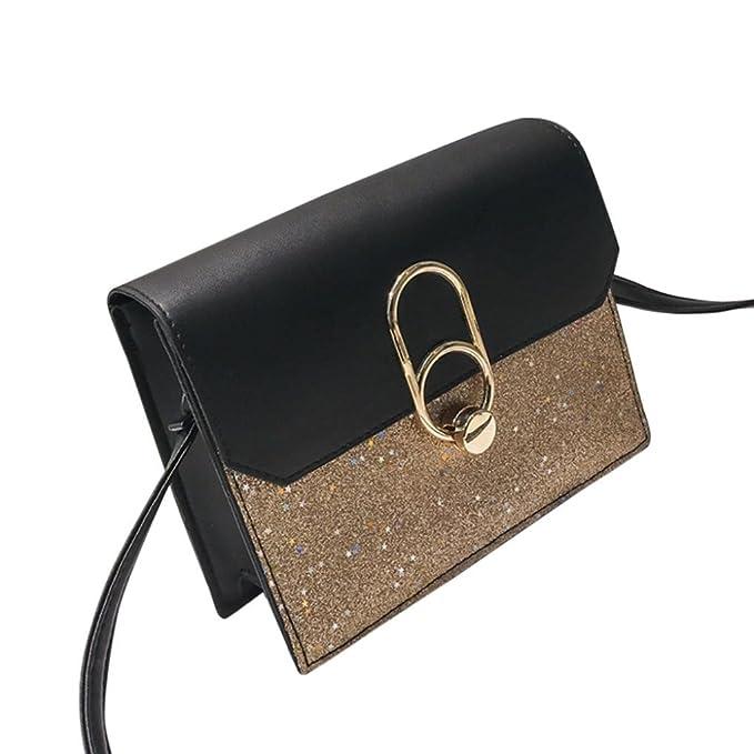 Las mujeres de la manera Bling lentejuelas Crossbody Bag Shoulder Bag Messenger Bag ☚Longra: Amazon.es: Alimentación y bebidas
