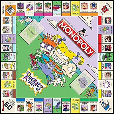 USAOPOLY Monopoly Rugrats Board Game | Based on The Nickelodean Series Rugrats | Officially Licensed Rugrats Merchandise | Themed Classic Monopoly Game: Toys & Games