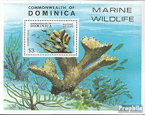 Dominica block56 (Complete.Issue.) 1979 Animals The Caribbean (Stamps for Collectors) Water Animals
