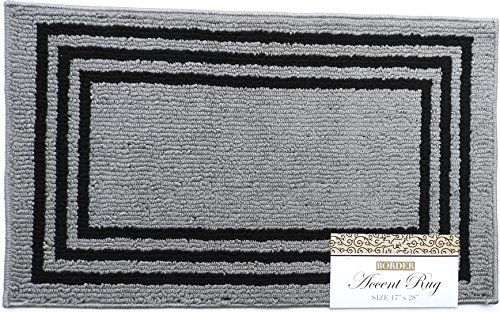 Accent Throw Rug (Accent Rug Rectangle Boxes Design 17