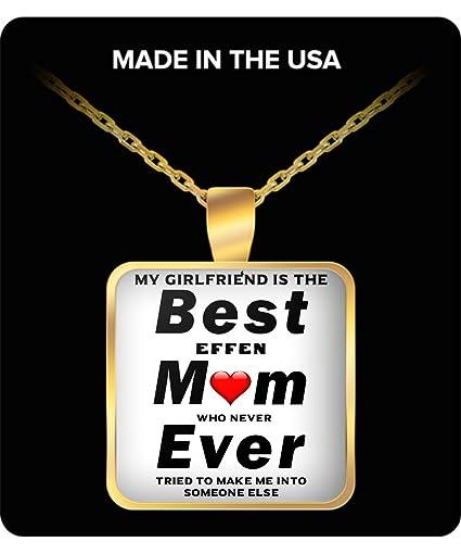 Amazon.com: Mi Novia Es la mejor mamá nunca – que nunca ...