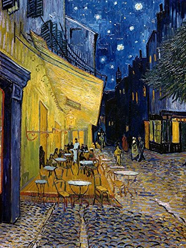 Cafe Terrace at Night by Vincent Van Gogh 8