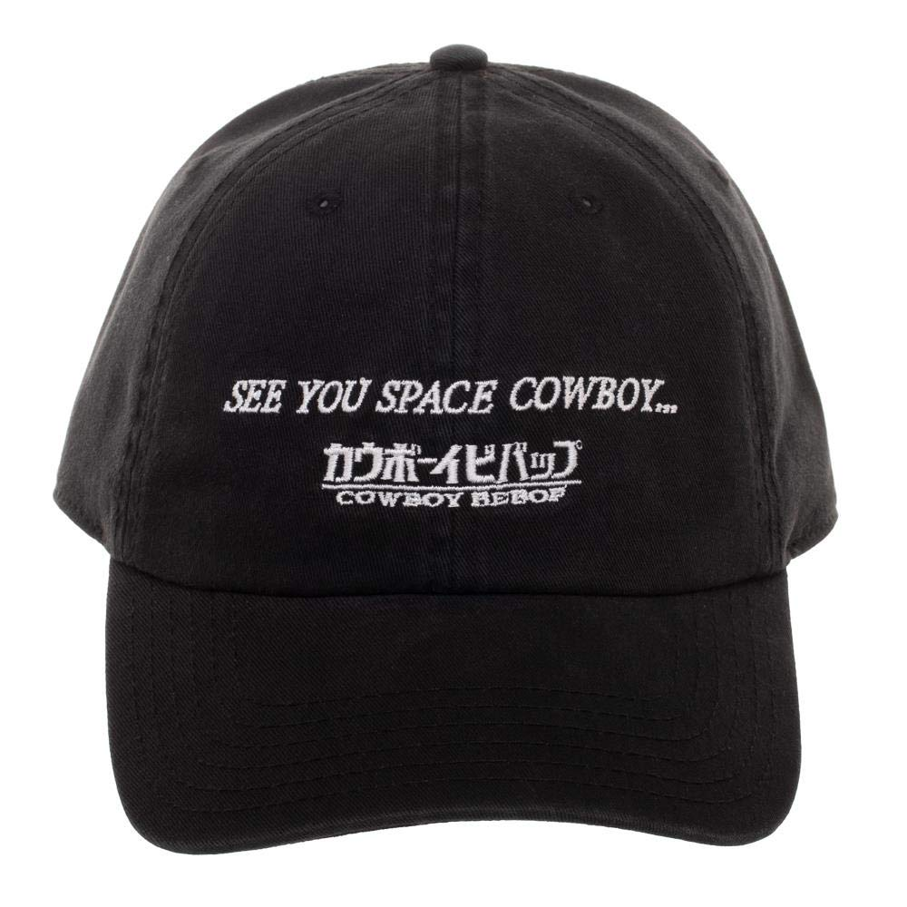 Cowboy bebop see you space cowboy kanji adjustable hat ball cap clothing  jpg 1000x1000 Bebop hats 3bb5c60452b5