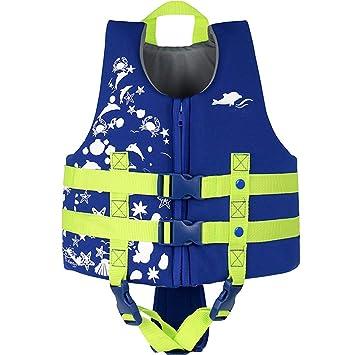 IvyH Chaleco de natación para niños - Niños Chaleco de Chaqueta ...