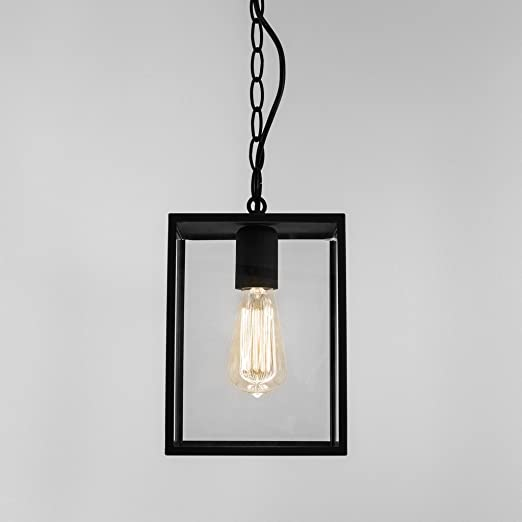Astro homefield outdoor external square porch hanging pendant astro homefield outdoor external square porch hanging pendant lantern light black 60w e27 aloadofball Image collections