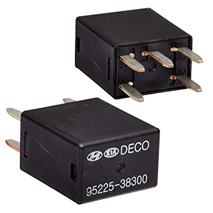 2 Pack Multi-Purpose Micro Power Relay Assembly 5 Pin 12v for Hyundai Kia  OEM #95225-38300