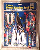 3 PIECE SET OF FLORAL GARDENING TOOLS FOR Review and Comparison