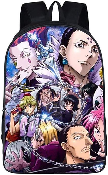 Siawasey Anime Hunter X Hunter Sac /à bandouli/ère Sac /à Dos /à bandouli/ère