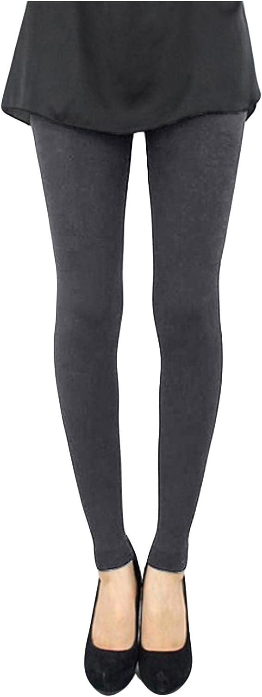 Letuwj Womens Full Length Seamless Leggings