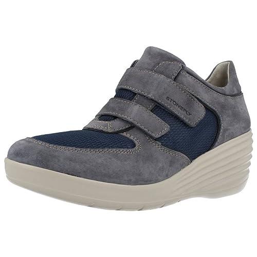 Calzado deportivo para mujer, color Beige , marca STONEFLY, modelo Calzado Deportivo Para Mujer STONEFLY EBONY 3 Beige: Amazon.es: Zapatos y complementos