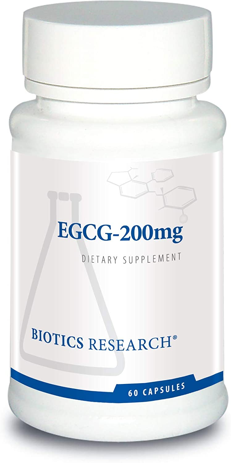 Biotics Research EGCG 2 Green Tea Extract, Camellia sinensis, 50 EGCG, Polyphenols, Cardiovascular Support, Neuroprotection, Healthy Immune Function, Maintain Healthy Blood Sugar Levels, 60caps