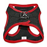 Voyager Step-In Air Dog Harness - All Weather Mesh, Step In Vest Harness for Small and Medium Dogs by Best Pet Supplies - Red, X-Small