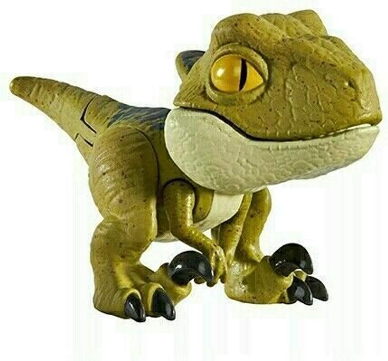 JW Mattel - Jurassic World - Snap Squad Mini Dinosaurios (Velociraptor Delta): Amazon.es: Juguetes y juegos