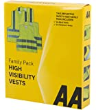 AA Car Essentials Chalecos Reflectantes de Seguridad para la Familia (Family Pack)