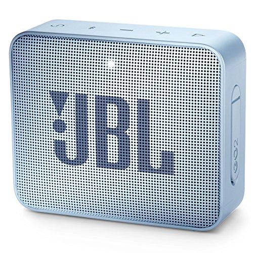 JBL GO 2 Portable Bluetooth Waterproof Speaker (Cyan)