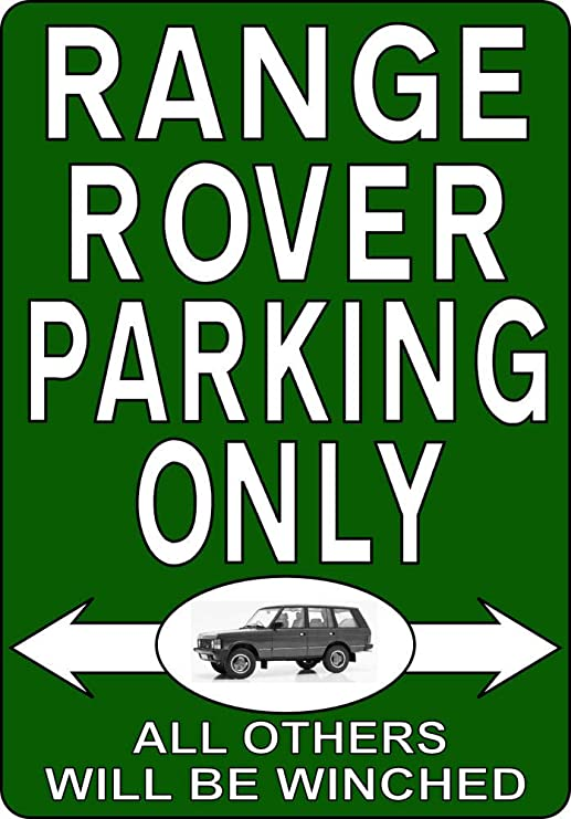 "Land Rover Parking Sign 8/"" x 12/"""