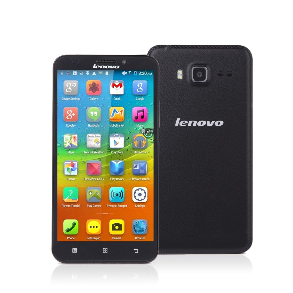 Amazon.com: Lenovo A916 8GB Black, Dual Sim, 5.5 inch, Unlocked .