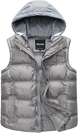 Wantdo Womens Gilet Quilted Cotton Sleeveless Garment